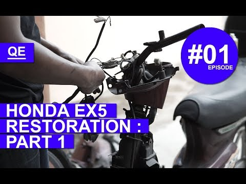Honda EX5 Restoration - Part 1
