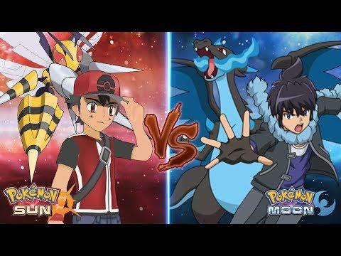 Pokemon Sun and Moon: Champion Ash Vs Alain