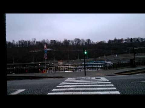 Пешеходный светофор в Праге