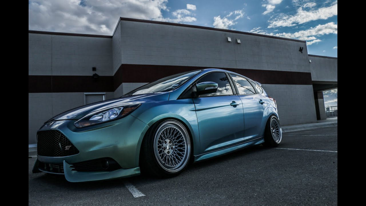 Efren S Wrapped Focus St On Klutch Wheels Youtube