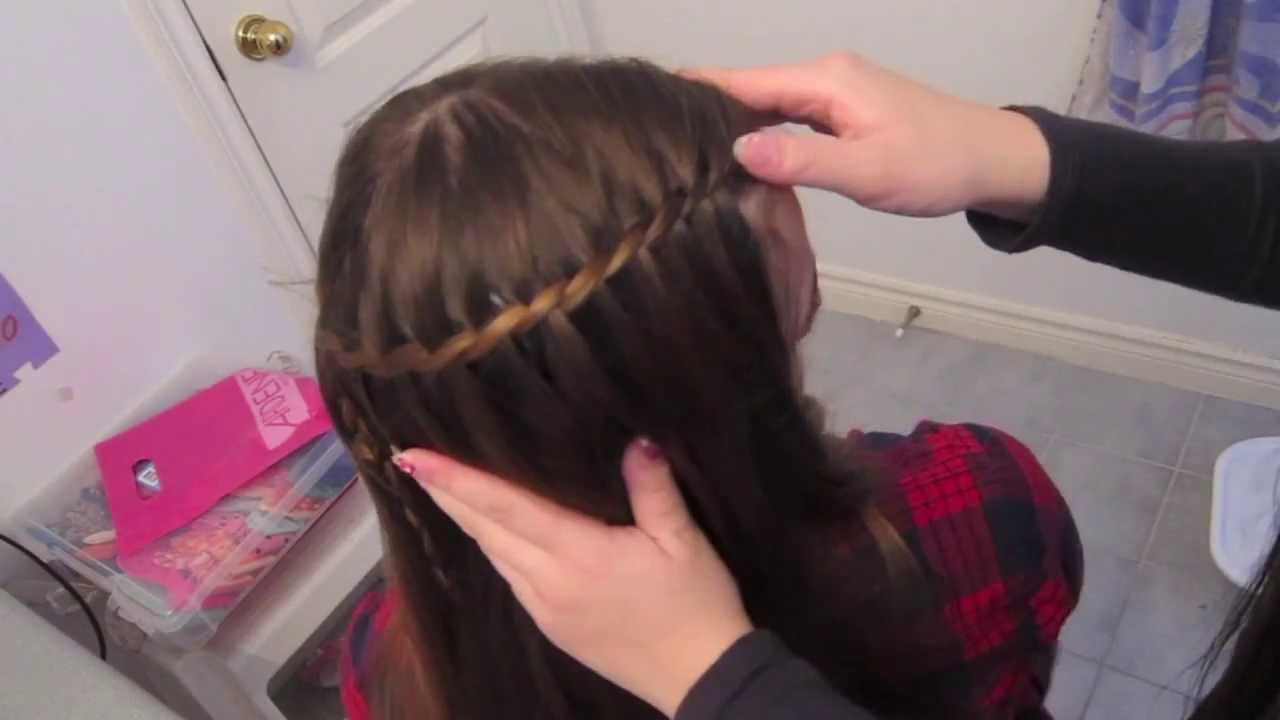 How To Waterfall Braid Different Way To End The Braid