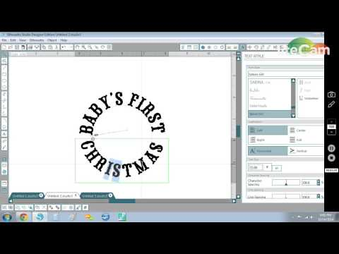 Silhouette Studio - Placing text on a circular path from YouTube · Duration:  6 minutes 29 seconds
