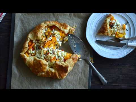 recipe: butternut squash goats cheese puff pastry [33]