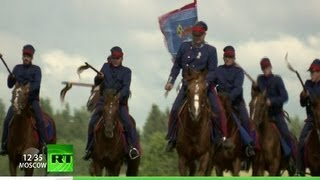 Cossack Invasion: March to Paris (RT Documentary)(Russian Cossack troops from the Napoleonic wars have returned to France... 200 years after they were first seen there! Summer camps and traditional riding ..., 2012-12-02T16:04:08.000Z)