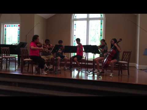 Chamber music camp 2016 -2