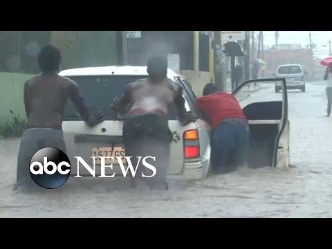 Hurricane Matthew Video