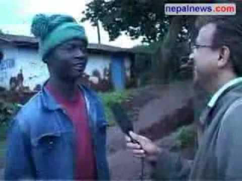african can speak nepali luji from congo
