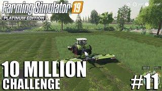 10 Million CHALLENGE | Nordfriesische Marsch | FS19 Timelapse #11 | Farming Simulator 19 Timelapse