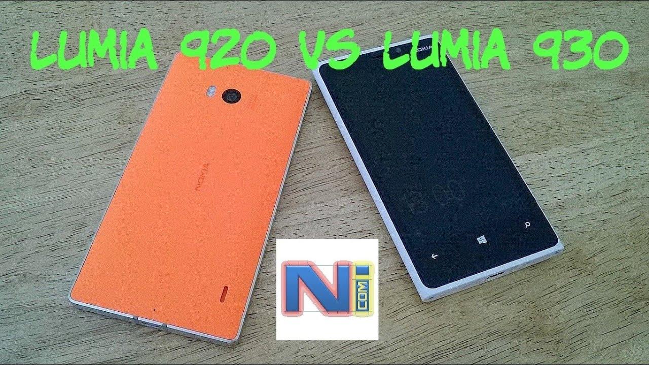 Nokia Lumia 920 Vs Lumia 930