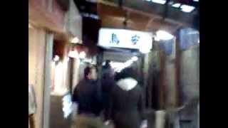 大阪天満・裏路地の飲み屋街 So many bars in Tenma Osaka