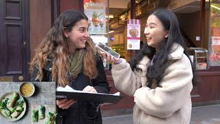 Street Interview: Are These Chinese Food?