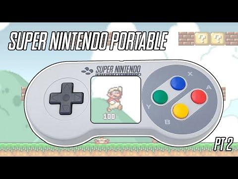 I Built a Portable Super Nintendo -  Pt2