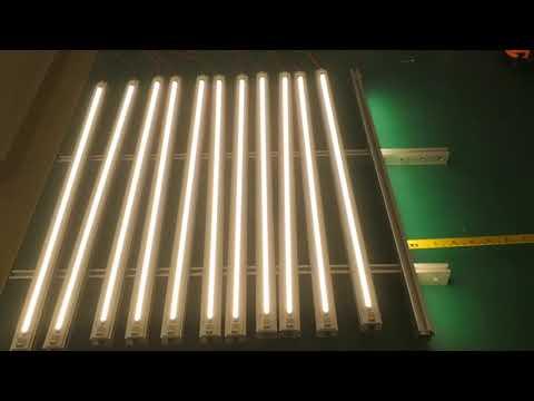 R2T 2FT 120led Tubar with Samsung LM561C S6 led grow light strip