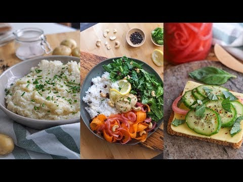 TURN 3 INGREDIENTS Into 9 EASY MEALS 🌱☀️
