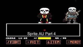 Undertale Fight-Ink Sans Sprite Au(Part 4)