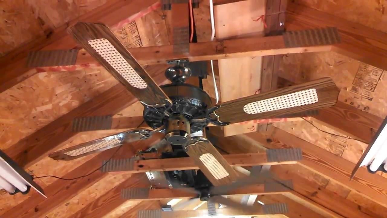 Evergo Montgomery Ward Ornate Ge Vent Ceiling Fan