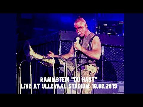Rammstein «Du Hast» Live At Ullevaal Stadion, Oslo, Norway 18.08.2019