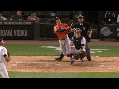 Correa hits two-run shot for first ML homer