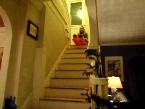 Home Alone Stair Sledding Like Kevin Youtube