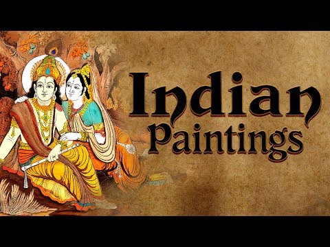 Indian Paintings types | Cave Painting, Miniature Painting, Indian Paintings IAS UPSC lesson