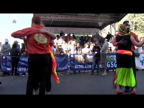 Dança de Coração – Kizomba Semba de Angola KdK Berlin 2015