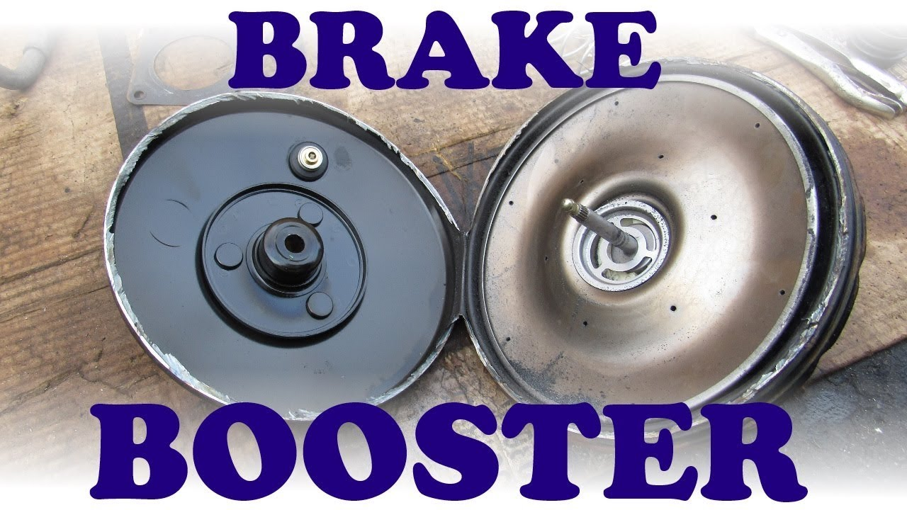 medium resolution of how a brake booster and master cylinder work