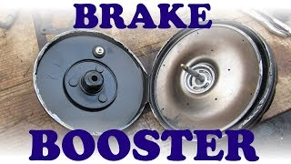 How a Brake Booster and Master Cylinder Work