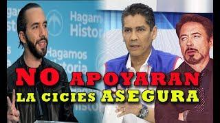 Nuevo presidente de ARENA SE OPONE A LA CICIES nuevas declaraciones de Oscar Ortiz