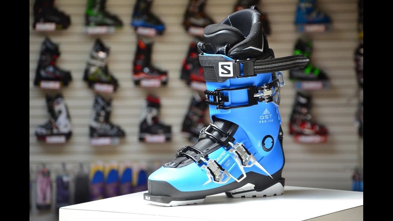 2016 Salomon QST Pro X 130 Ski Boot Review - YouTube 9a23745fc
