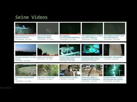 Alien -  Aufnahmen