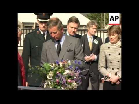UK - Prince Charles visits site of Omagh bombing