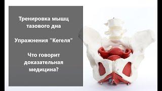 Тренировка мышц тазового дна Упражнения Кегеля Что говорит доказательная медицина