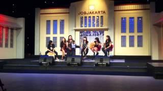 JOURNEY band akustik Jogja ABBA mamamia N Vina p -Cinta-