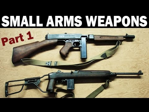 How WW2 Small Arms Weapons Work | PART 1 Of 3 | US Army Training Film | 1945