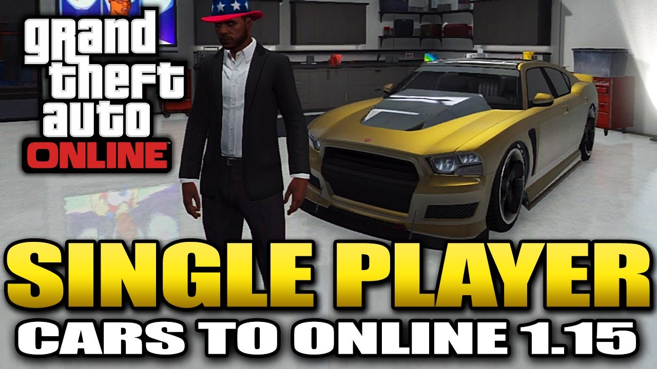 how to sell cars in gta 5 single player