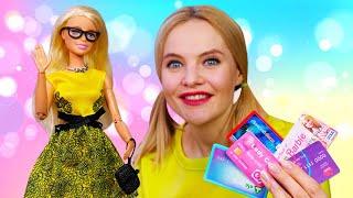 Игры одевалки – Кукла Барби ищет платье для Селфи! - Модная одежда для кукол в видео шоу.