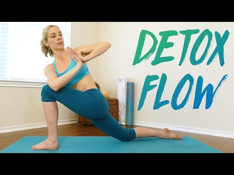 Yoga for Detox & Belly Fat with Lindsey, Bloating, Weight Loss, Beginners 20 Minute Workout