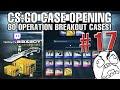 CS:GO CASE OPENING #17 - Breakout Cases im Livestream!