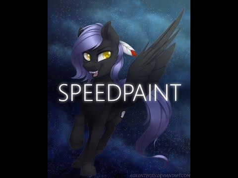 MLP Speedpaint - Cloudy Night