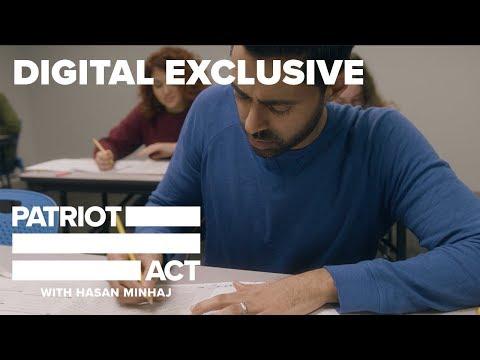 Hasan Retakes The SAT Exam | Patriot Act with Hasan Minhaj | Netflix