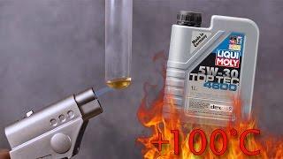 Liqui Moly Top Tec 4600 5W30 Jak czysty jest olej silnikowy? Test powyżej 100°C
