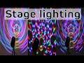 Best stage lighting RGB Crystal Magic Ball Laser Stage Light