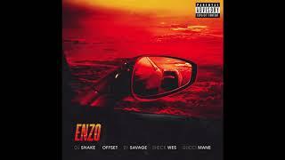 DJ Snake - Enzo ft. Offset, 21 Savage, Sheck Wes & Gucci Mane (Official Audio)
