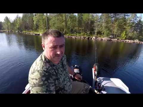 Рыбалка и отдых в Карелии на лесном озере