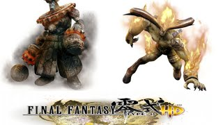 Final Fantasy Type-0: All types of Eidolons Summons