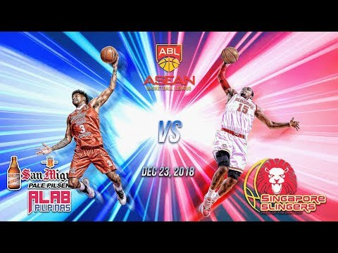 San Miguel Alab Pilipinas VS Singapore Slingers| Dec 23 2018| ASEAN Basketball League| 4TH QUARTER