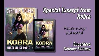 Book Excerpt   KOBRA - Superhero Novel