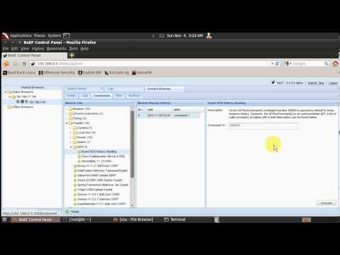 Avant Browser - History Stealing - BeEF Module