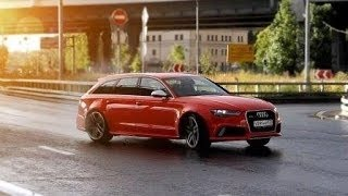 Audi RS6 Тест драйв Anton Avtoman