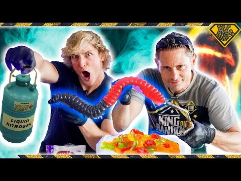 Gigantic Gummy Worms & The Secret Second Verse  #TheSecondVerse